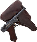Handguns:Semiautomatic Pistol, German DWM Model P08 1916 Luger Semi-Automatic Pistol with Holster....