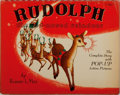 Books:Children's Books, [Pop-Up Book]. Robert L. May. Rudolph the Red-NosedReindeer. Maxton, 1939. Publisher's wrappers with comb binding....