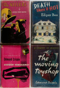 Books:Mystery & Detective Fiction, [Mystery]. Group of Four First Edition, First Printing Books.Various publishers. Good or better condition.... (Total: 4 Items)