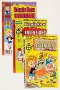 Bronze Age (1970-1979):Cartoon Character, Richie Rich Inventions File Copies Group (Harvey, 1977-82)Condition: Average NM-.... (Total: 73 Comic Books)