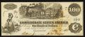 Confederate Notes:1862 Issues, T39 $100 1862 PF-2 Cr. 289.. ...