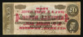 Confederate Notes:1864 Issues, Advertising Note T67 $20 1864 PF-11 Cr. 511.. ...