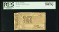 Colonial Notes:Maryland, Maryland April 10, 1774 $2/9 PCGS Choice About New 58PPQ.. ...