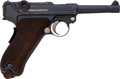 Handguns:Semiautomatic Pistol, German DWM Model P08 1920 Commercial Luger Semi-Automatic Pistol....