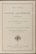Books:Literature Pre-1900, [Oliver Goldsmith]. The Works of Oliver Goldsmith. Cassell,Petter, and Galpin, [n.d., circa 1865]. Illustrated....