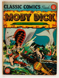 Golden Age (1938-1955):Classics Illustrated, Classic Comics #5 Moby Dick - Edition 1A (Gilberton, 1942) Condition: GD/VG....