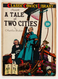 Golden Age (1938-1955):Classics Illustrated, Classic Comics #6 A Tale of Two Cities - First Edition (Gilberton,1942) Condition: GD....
