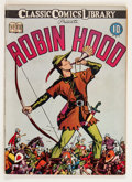 Golden Age (1938-1955):Classics Illustrated, Classic Comics #7 Robin Hood - First Edition (Gilberton, 1942)Condition: FN....
