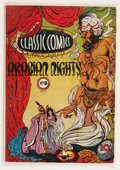 Golden Age (1938-1955):Classics Illustrated, Classic Comics #8 Arabian Knights - First Edition (Gilberton, 1943)Condition: VG....