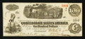Confederate Notes:1862 Issues, T40 $100 1862 PF-16 State I Cr. 296.. ...
