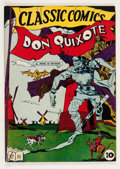 Golden Age (1938-1955):Classics Illustrated, Classic Comics #11 Don Quixote - First Edition (Gilberton, 1943) Condition: FN/VF....