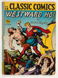 Golden Age (1938-1955):Classics Illustrated, Classic Comics #14 Westward Ho! - First Edition (Gilberton, 1943)Condition: GD....