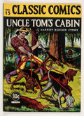 Golden Age (1938-1955):Classics Illustrated, Classic Comics #15 Uncle Tom's Cabin - First Edition (Gilberton,1943) Condition: FN/VF....