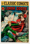 Golden Age (1938-1955):Classics Illustrated, Classic Comics #32 Lorna Doone - First Edition (Gilberton, 1946)Condition: VG/FN....