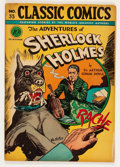Golden Age (1938-1955):Classics Illustrated, Classic Comics #33 The Adventures of Sherlock Holmes - First Edition (Gilberton, 1947) Condition: GD....