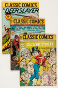 Golden Age (1938-1955):Classics Illustrated, Classic Comics First Editions Group (Gilberton, 1942-47) Condition:Average VG.... (Total: 11 Comic Books)