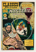 Golden Age (1938-1955):Classics Illustrated, Classics Illustrated #40 Mysteries - First Edition (Gilberton, 1947) Condition: VG....