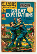Golden Age (1938-1955):Classics Illustrated, Classics Illustrated #43 Great Expectations - First Edition(Gilberton, 1947) Condition: GD/VG....