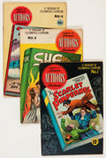 Golden Age (1938-1955):Classics Illustrated, Stories by Famous Authors Illustrated Group (Seaboard Pub.,1950-51) Condition: Average VG-.... (Total: 10 Comic Books)