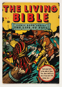 Living Bible #1 (Living Bible Corp., 1945) Condition: VG/FN