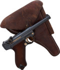 Handguns:Semiautomatic Pistol, German DWM Model P08 1911 Luger Semi-Automatic Pistol withHolster....