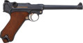Handguns:Semiautomatic Pistol, German DWM Navy Model P08 1917 Luger Semi-Automatic Pistol....