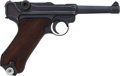 Handguns:Semiautomatic Pistol, German Model P08 41/42 Black Widow Luger Semi-Automatic Pistol....