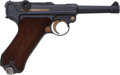 Handguns:Semiautomatic Pistol, Swedish Mauser Model P08 Luger Semi-Automatic Pistol....