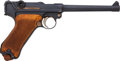 Handguns:Semiautomatic Pistol, Altered German DWM Model 1920 Commercial with Navy Barrel....