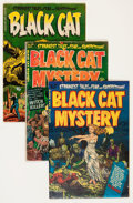Golden Age (1938-1955):Horror, Black Cat Mystery #37, 39, and 53 Group (Harvey, 1952-54)....(Total: 3 Comic Books)