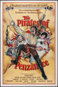 "The Pirates of Penzance & Others Lot (Universal, 1983). Posters (6) (40"" X 60""). Musical. ... (Total: 6 It..."