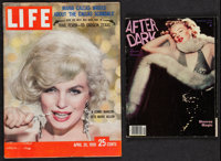 Marilyn Monroe Magazine Cover Lot (Life, 20 April 1959 and After Dark, September 1981). Magazines (2) (Multiple Pages, 8...