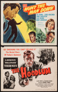 """Movie Posters:Crime, The Hoodlum and Other Lot (United Artists, 1951). Title Lobby Cards(2) (11"""" X 14""""). Crime.. ... (Total: 2 Items)"""