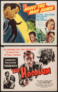 """The Hoodlum and Other Lot (United Artists, 1951). Title Lobby Cards (2) (11"""" X 14""""). Crime. ... (Total: 2 Item..."""