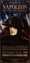"Movie Posters:War, Napoleon (Zoetrope, R-1981). Three Sheet (41.5"" X 84""). War.. ..."