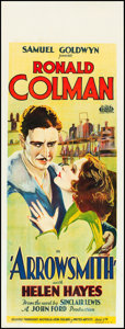 "Movie Posters:Drama, Arrowsmith (United Artists, 1931). Pre-War Australian Daybill (15.25"" X 40""). Drama.. ..."