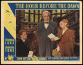 "Movie Posters:War, The Hour Before the Dawn (Paramount, 1944). Lobby Cards (4) (11"" X14""). War.. ... (Total: 4 Items)"
