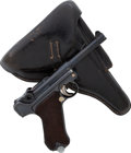 Handguns:Semiautomatic Pistol, German DWM Model P08 Luger Semi-Automatic Pistol with Holster....