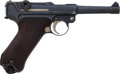 Handguns:Semiautomatic Pistol, Unit Marked German DWM Commercial Luger Semi-Automatic Pistol....