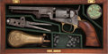 Handguns:Single Action Revolver, Cased Colt Model 1849 Percussion Pocket Revolver withAccessories....