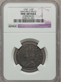 Colonials: , 1747 1/2P Machin's Mills Halfpenny -- Corroded -- NGC Details.Fine. NGC Census: (0/1). PCGS Population (1/9). ...