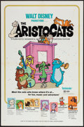 """Movie Posters:Animation, The Aristocats (Buena Vista, 1970). One Sheet (27"""" X 41""""). Animation.. ..."""