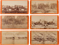 Photography:Stereo Cards, Group of Six E. & H. T. Anthony Civil War Stereoviews.... (Total: 6 Items)