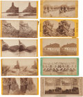 Photography:Stereo Cards, Group of Ten Civil War Stereoviews by Unidentified Photographers. ... (Total: 10 Items)
