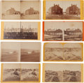 Photography:Stereo Cards, Group of Eight Civil War Stereoviews by Various Artists.... (Total:8 Items)