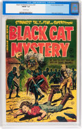 Golden Age (1938-1955):Horror, Black Cat Mystery #43 (Harvey, 1953) CGC FN/VF 7.0 Off-whitepages....