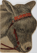 Books:Americana & American History, [Burro Novelty Book, 1903] Burros: A Collection of Sixty-FourCute, Curious, and Interesting Burro Pictures. Den...