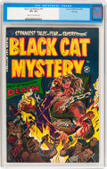 Golden Age (1938-1955):Horror, Black Cat Mystery #42 File Copy (Harvey, 1953) CGC VF+ 8.5 Cream tooff-white pages....