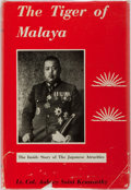 Books:Non-fiction, [WWII Japanese War Trials] Lt. Colonel Aubrey Saint Kenworthy. The Tiger of Malaya. The Story of General Tomoyuki Yamash...