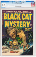 Golden Age (1938-1955):Horror, Black Cat Mystery #40 (Harvey, 1952) CGC VF+ 8.5 Cream to off-whitepages....